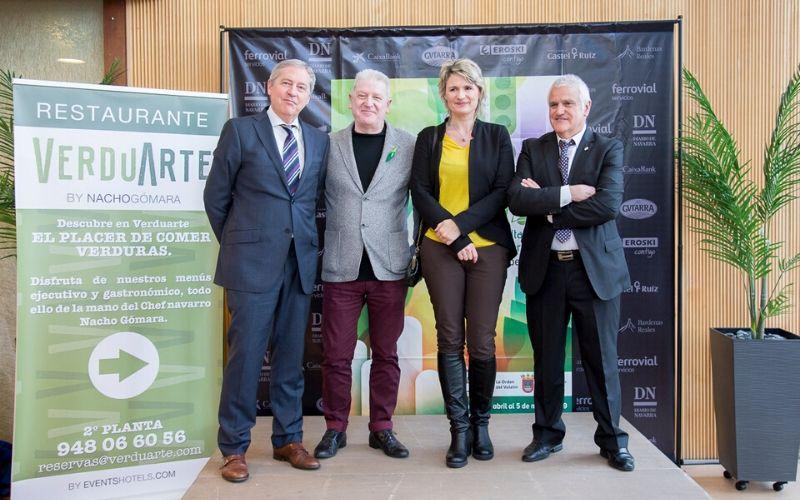 """El restaurante Verduarte acoge la presentación en Pamplona de """"las embajadoras de la Ribera y de Navarra"""""""